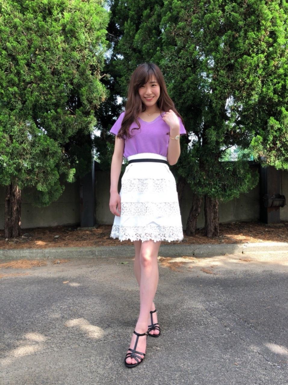 夏コーデ♡可愛いスカート購入しました_1_3