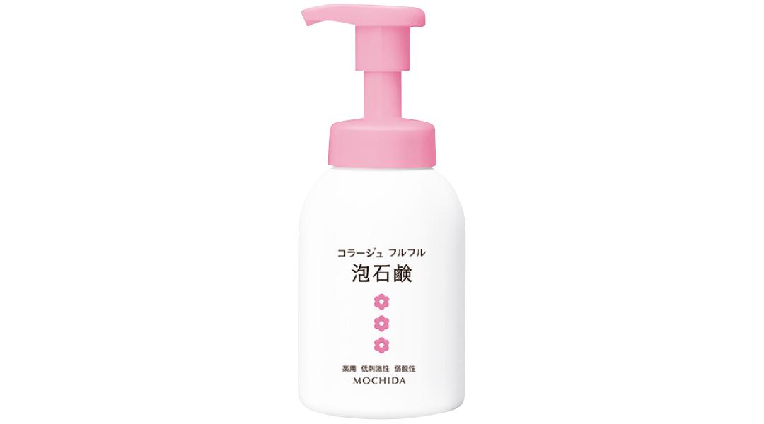 持田ヘルスケア コラージュフルフル泡石鹸[ピンク]