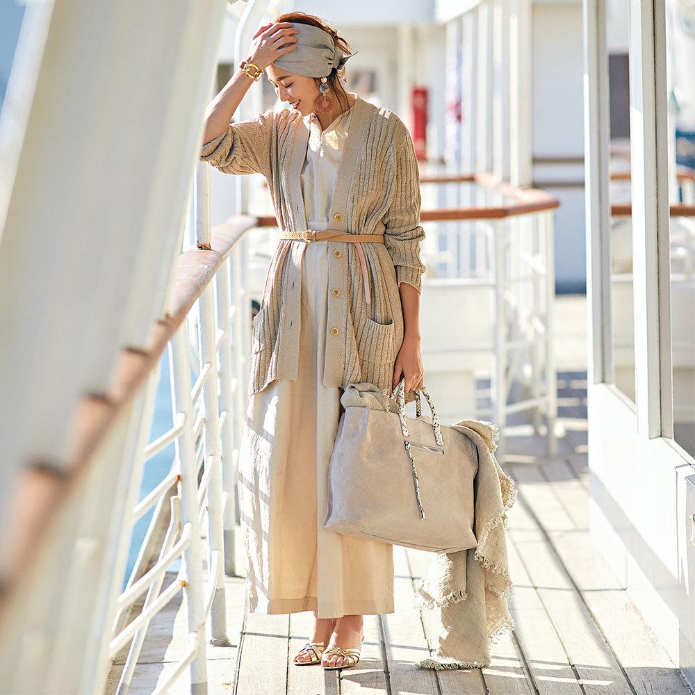 SHIHOが着るベージュスタイル。洗練、可愛げ、遊び心…アラフォーが欲しいものがこの色には全部ある!_1_1-3