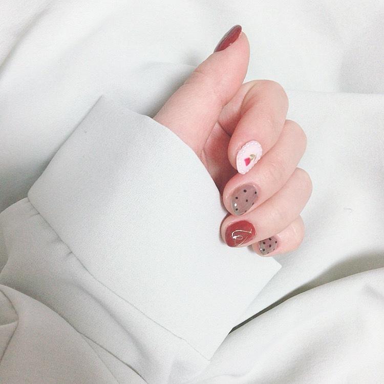 Spring nail ❥_1_1
