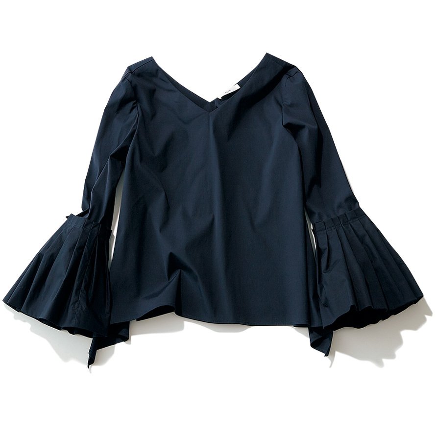 手元にフェミニンさを。着るだけで女らしさが手に入る「ボリューム袖」シャツ_1_2-1