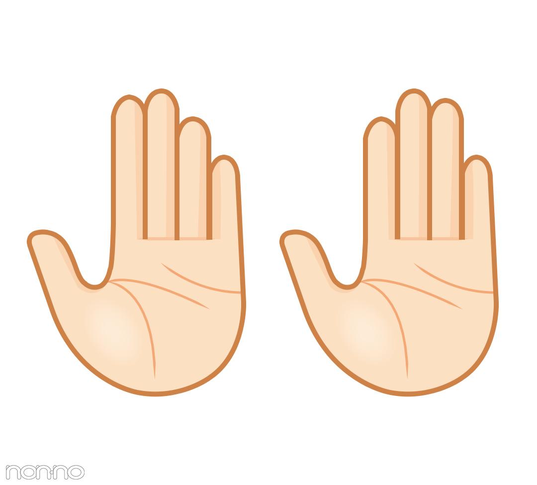 「指の長さ」も手相なんです|島田秀平さんの最強手相占い