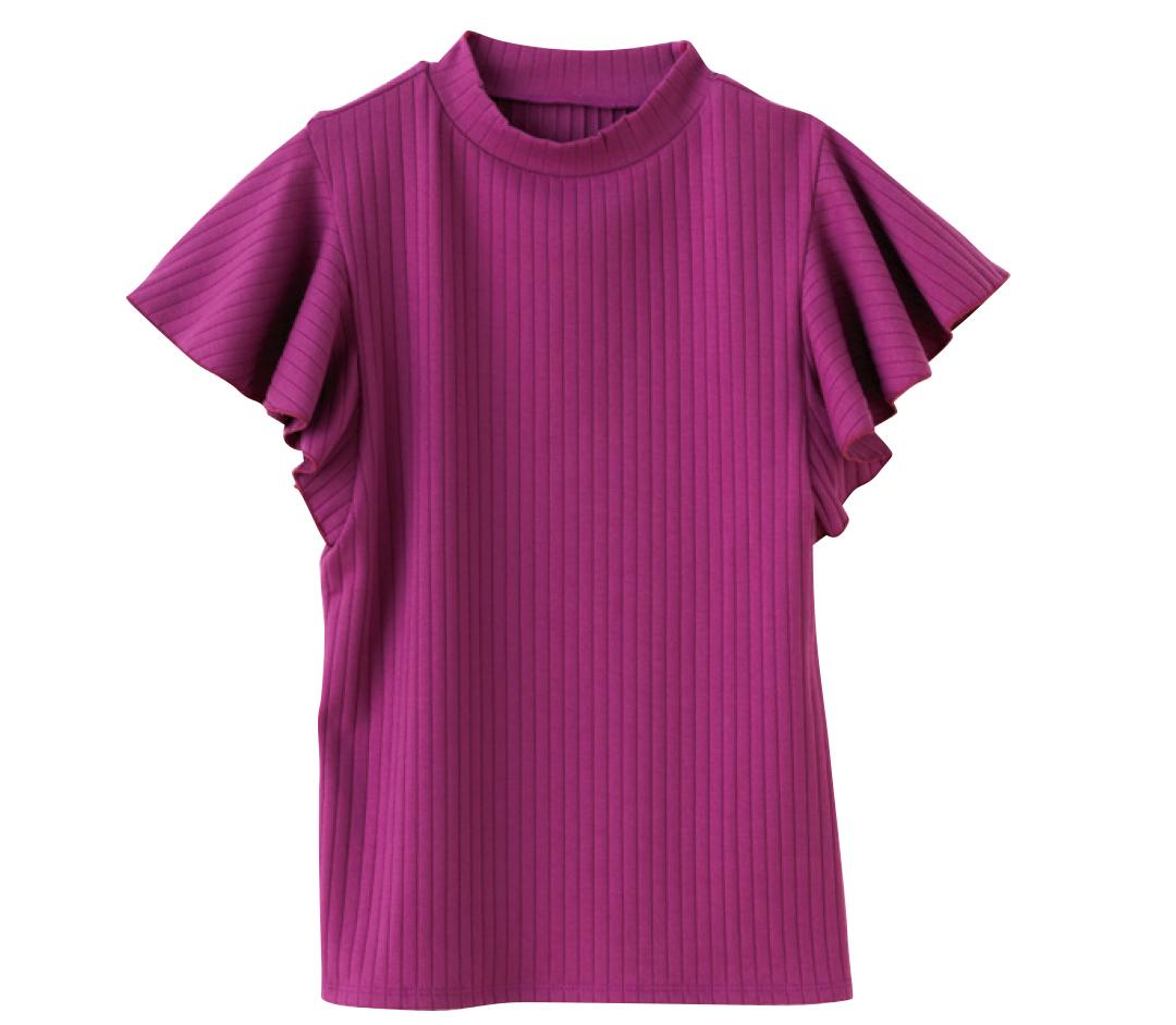 着るだけでほっそり二の腕♡ 今買うなら袖フリルトップス!_1_3-1