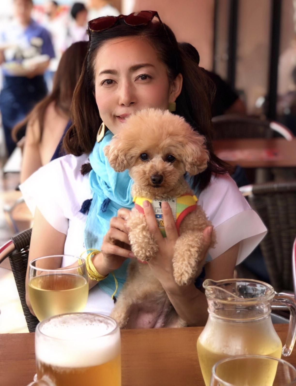 アレンジTで愛犬を連れて江ノ島デート♪_1_7-1