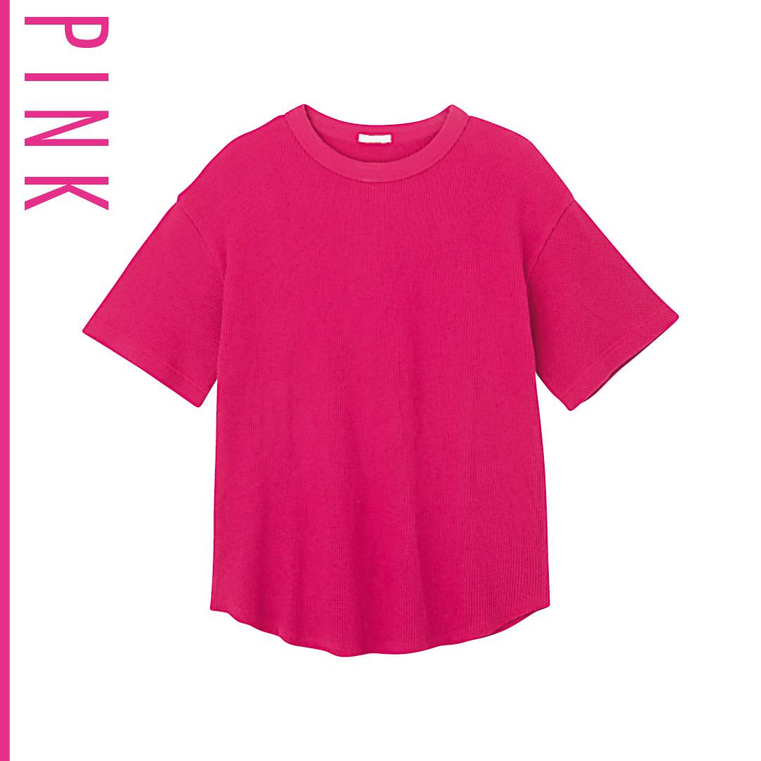 ピンク好きなら、夏は思いっきりヴィヴィッドな発色にトライ!_1_3-4