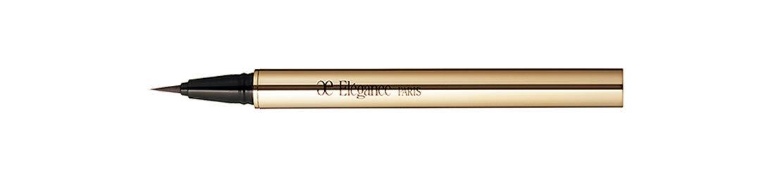 ❻忍者アイラインは淡い色で。薄いトーンのリキッドアイブロウペンシルを使うのも。アイブロウ リクイッド BR21¥3,000/エレガンス コスメティックス