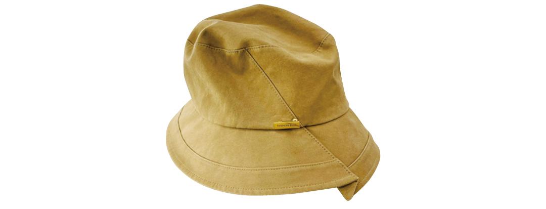 撮影で使った帽子
