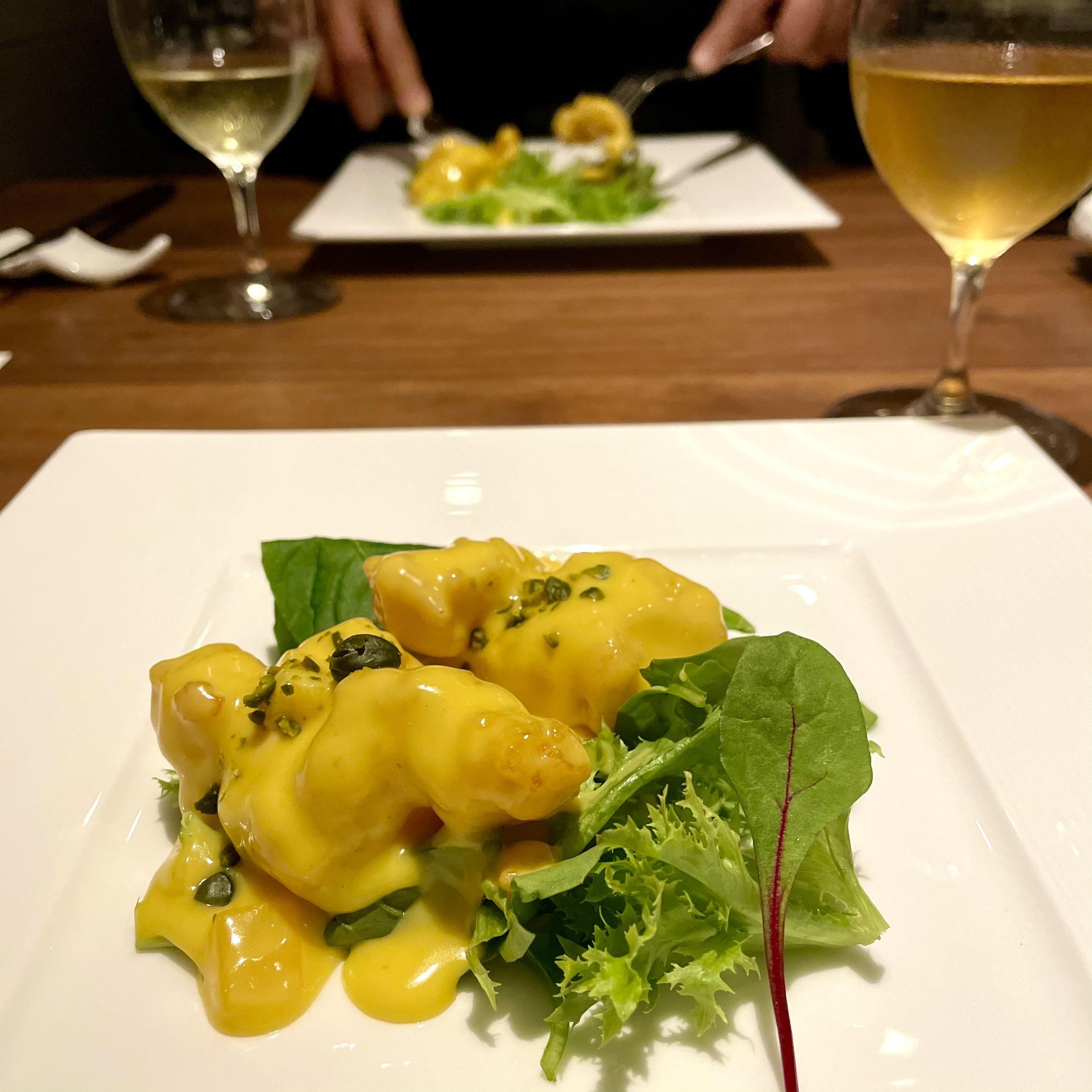 「Cantonese 燕 KEN TAKASE」料理写真 海老料理