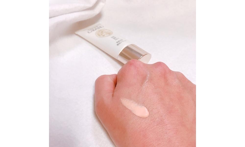 べキュアの朝用クリームは肌色の補正もしてくれるしべたつかない!