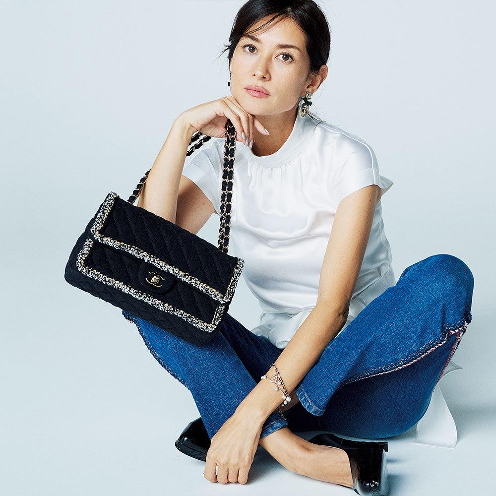 ファッション シャネルのバッグ