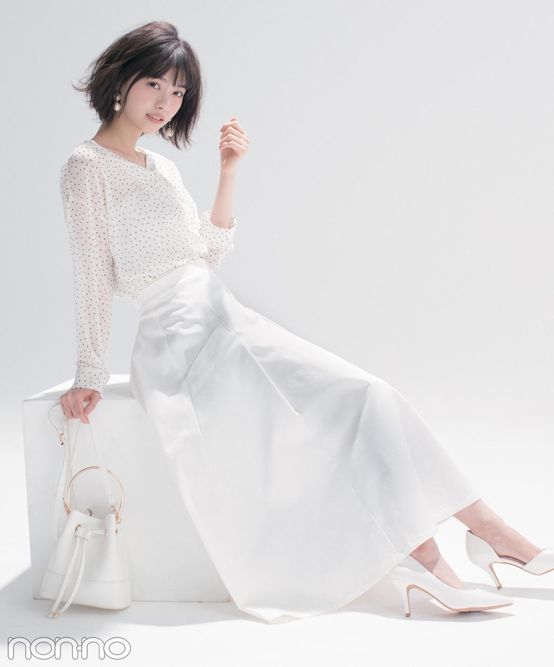 優子と七瀬がお手本♡ 女子が永遠好きな配色★白っぽワントーン2018春の4選_1_2
