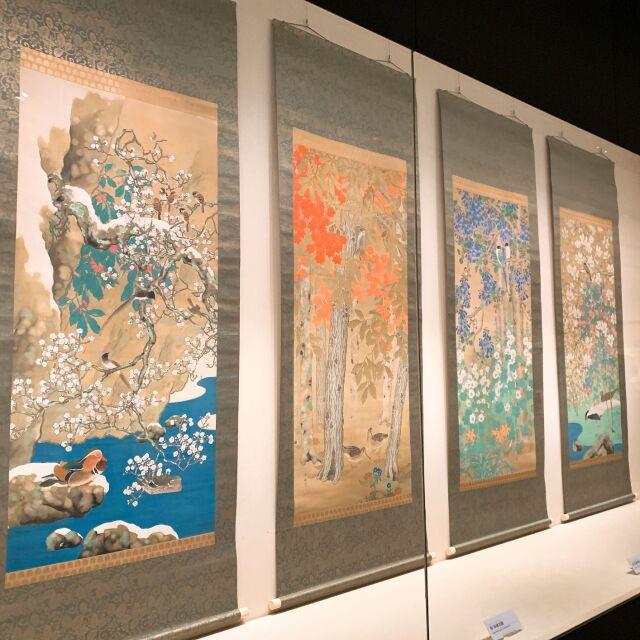 【美術館めぐり】広尾の山種美術館で日本画のアジサイ_1_3-1