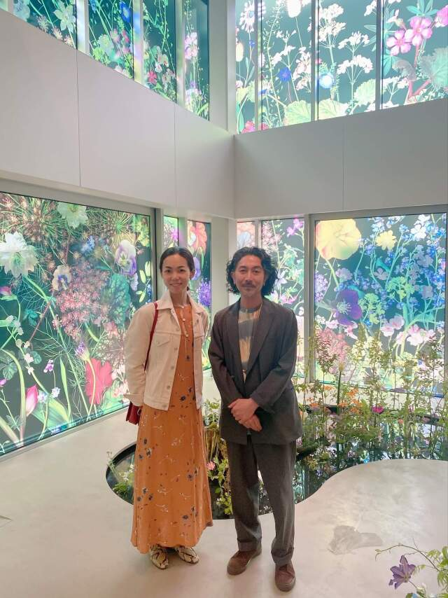 """ヴァン クリーフ&アーペルの展覧会""""ハナの光""""へ行ってきました   _1_10"""