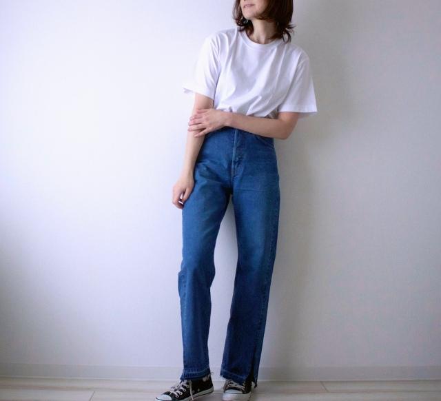 【モデル竹下玲奈さん&Lee】コラボ第一弾♡デニムを履いてみた_1_8