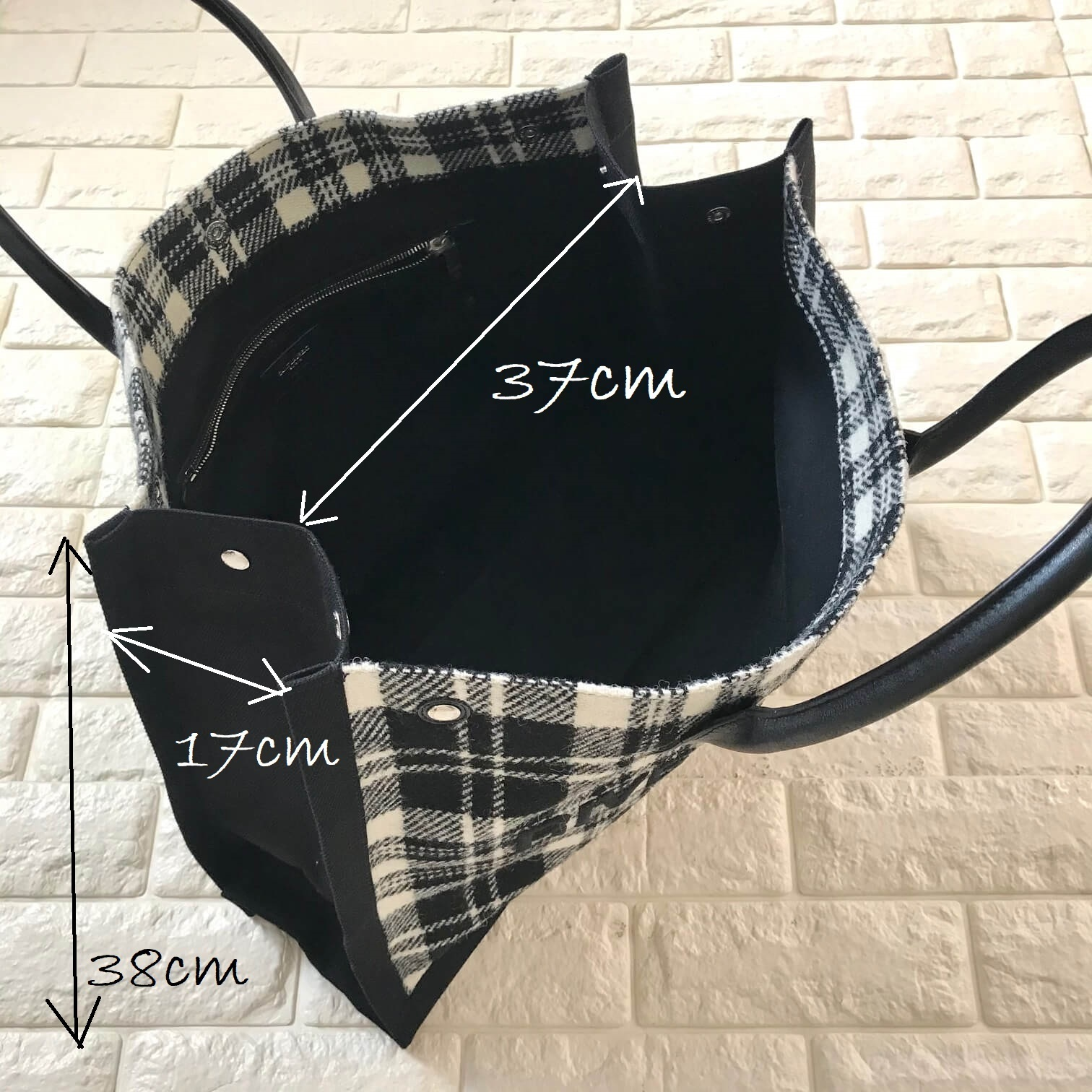 サンローランのバッグ、サイズ画像