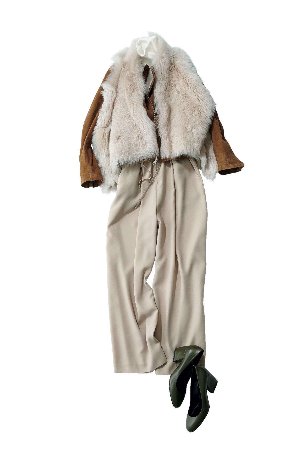かっこよくて女っぽい、今春の「柔らかレザージャケット」 五選_1_2