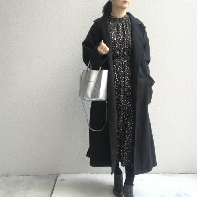 コーディネートが決まらない日の強い味方!冬に着る「黒」_1_4
