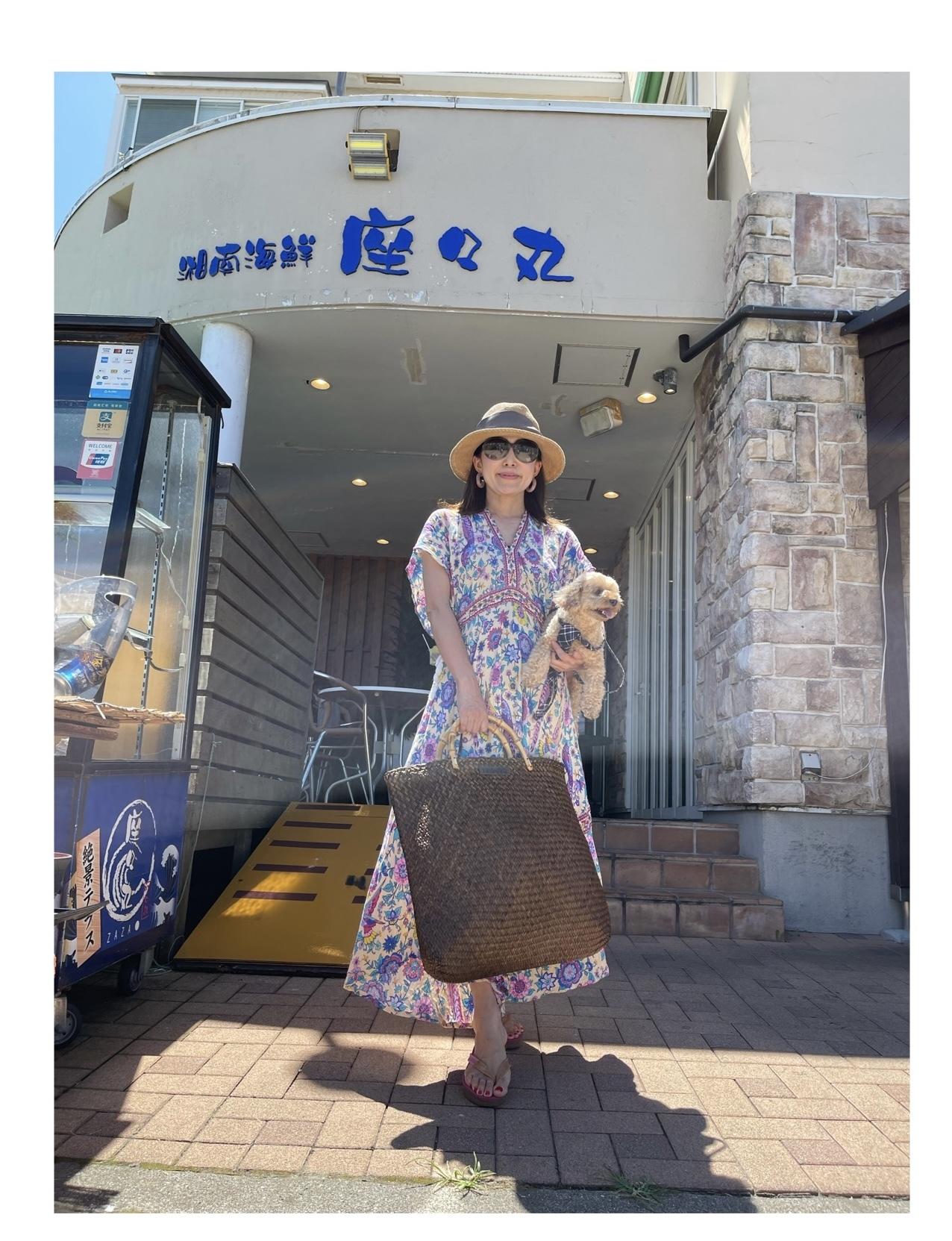 カジュアルリゾートワンピで江ノ島ヨットハーバーへ_1_4-4