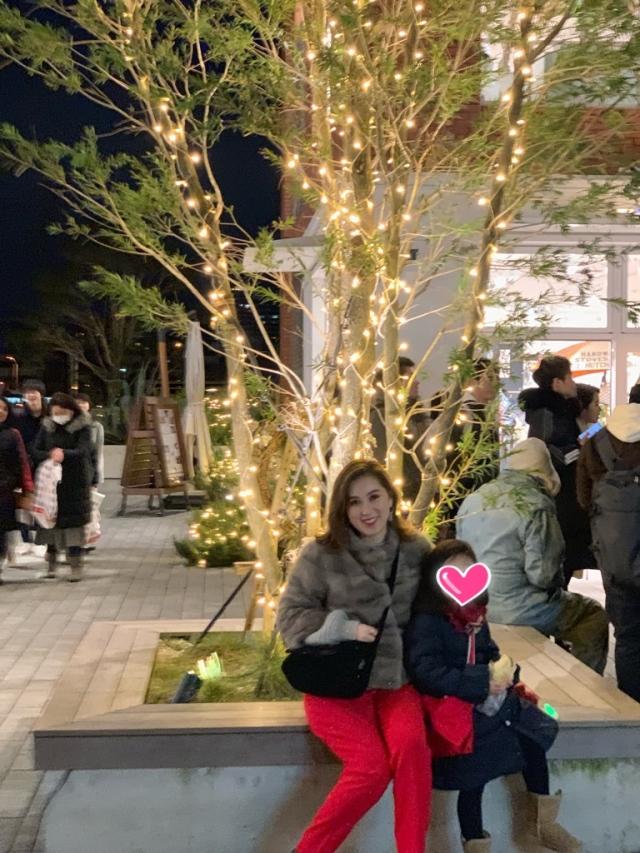 赤を使った、Christmas eve coordinate_1_3