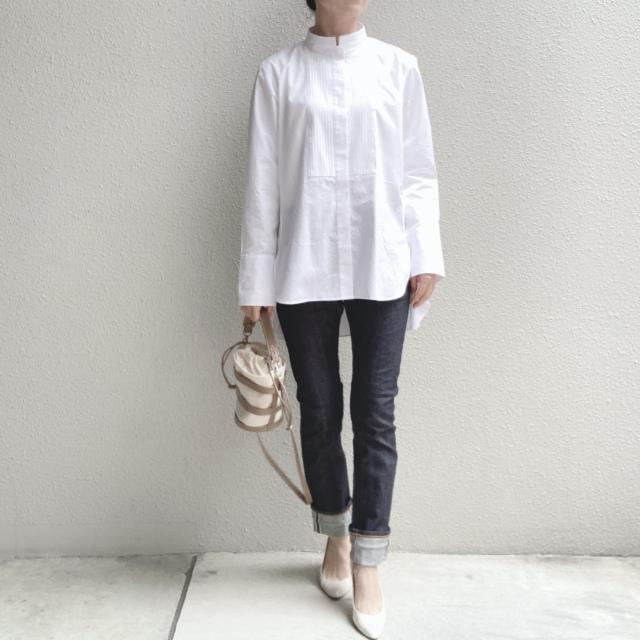 【ユニクロ+J】春夏のおすすめシャツで上下UNIQLOコーデ_1_8-1