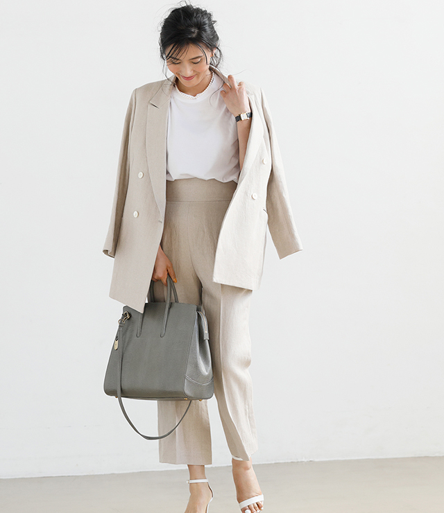ファッションエディター・坪田あさみさんの 「トフ&ロードストーン」の最新バッグ、私流スタイリング術_1_3