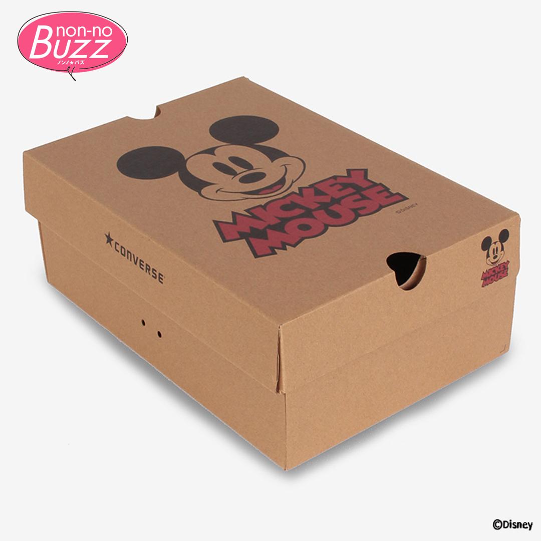 ハイカットのオールスター白&黒で♡ コンバース×ミッキーマウス第3弾が登場!_1_2