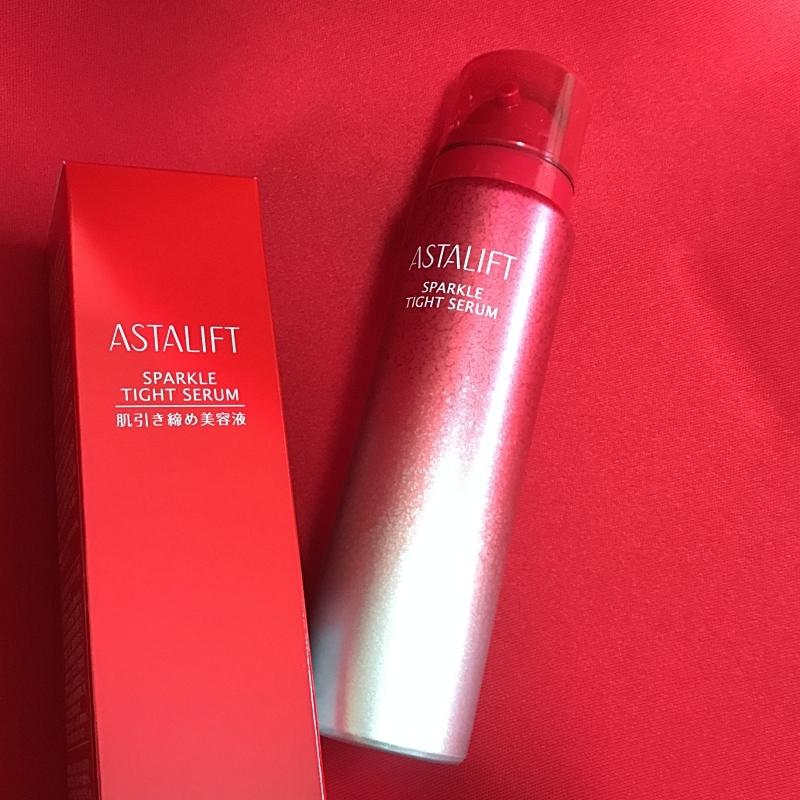 ASTALIFTの新作タイトリフトセラムは肌引き締め美容液