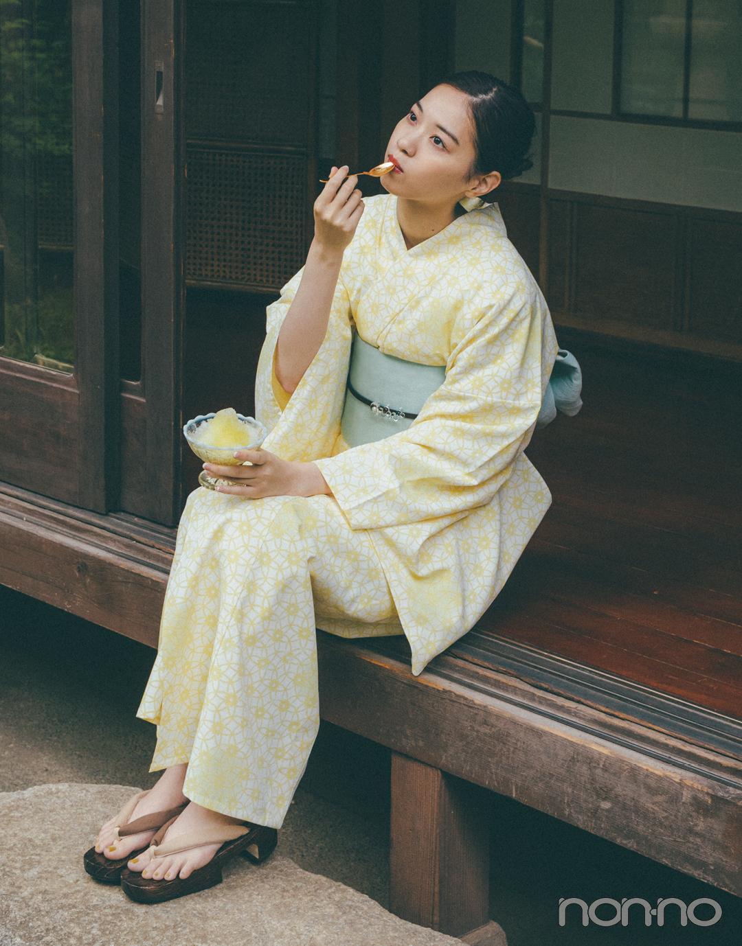 Photo Gallery 日常を特別に。西野七瀬の浴衣コレクション【2021版】_1_4
