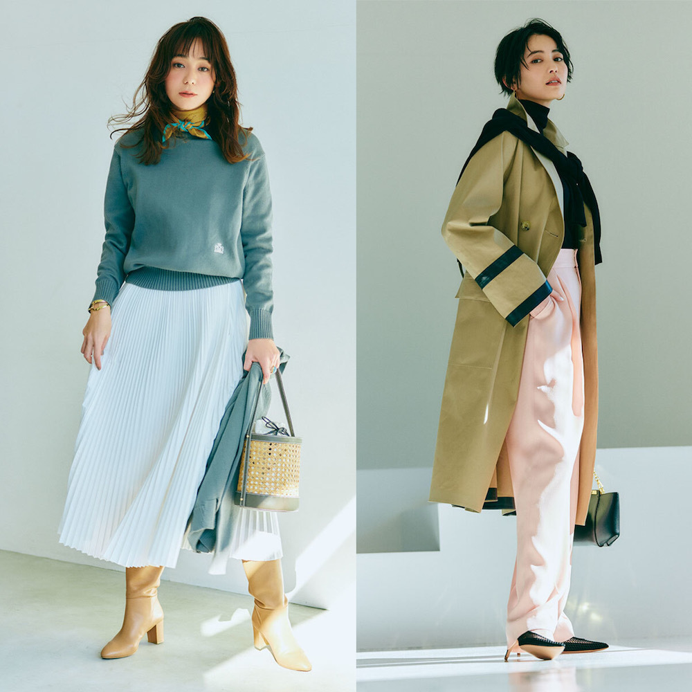 40代の春おしゃれをアップデート!カジュアル派&きれいめ派の上がる服まとめ|アラフォーファッション