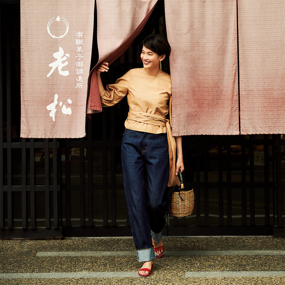 モデル渡辺佳子さん旅ワードローブを拝見!3泊4日星のや京都へ【おしゃれプロの旅支度】_1_1-3