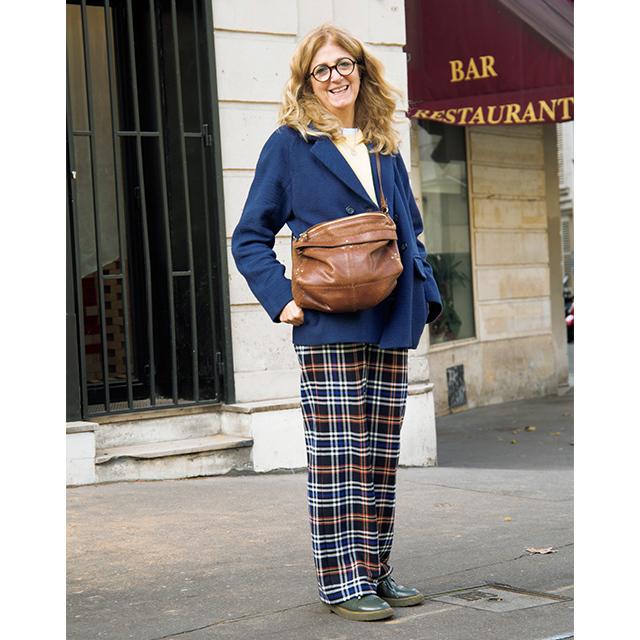 パリ&ミラノマダム ほどよく華を加えてくれる「チェック柄」