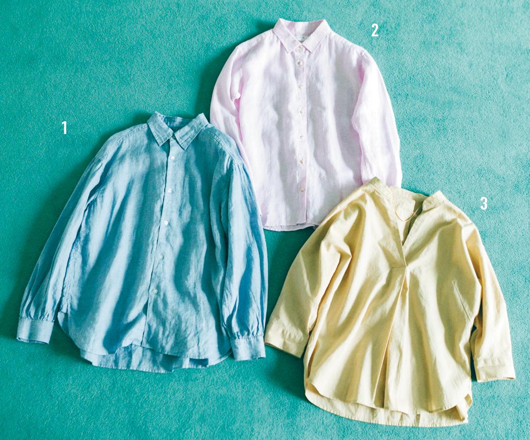 リネンのシャツはゆるサイズを選ぶのが正解! 今季のネオナチュブームに必須★_1_3
