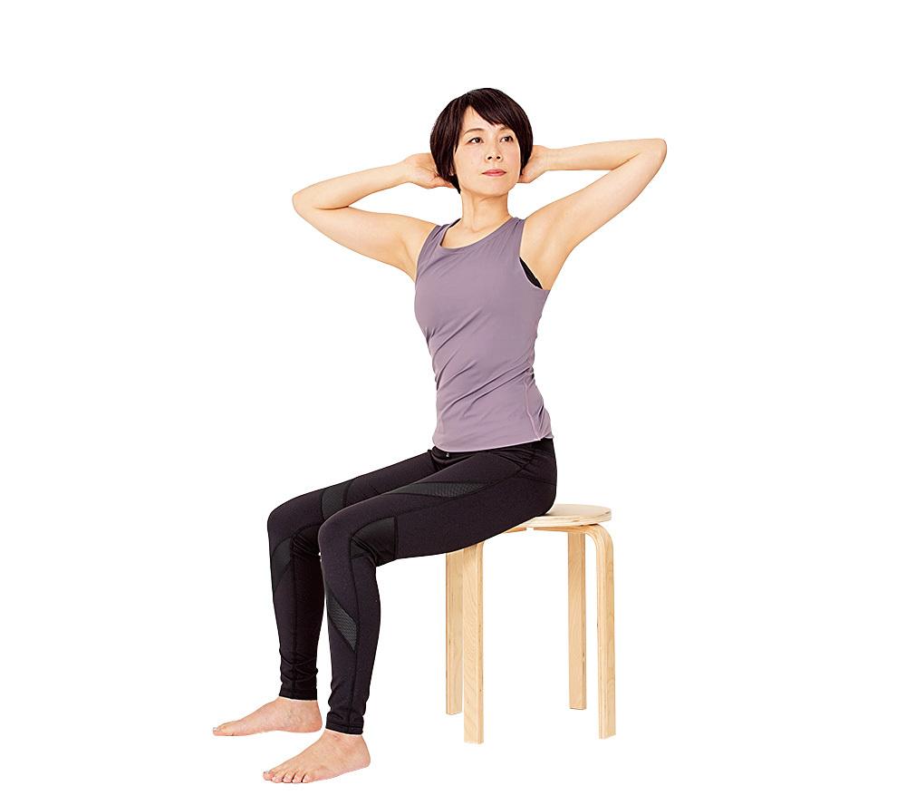 肩甲骨まわりを鍛えて、姿勢も美しく!【2度と太る気がしないダイエット】_1_5-2