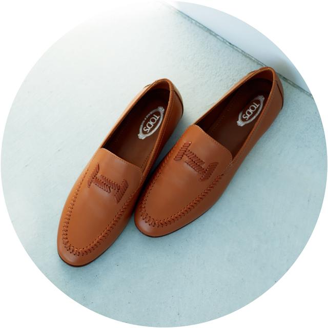 トッズ 甲深靴