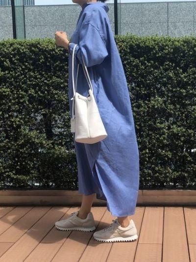TICCA×eclat ダブルポケットロングシャツ ¥31,900