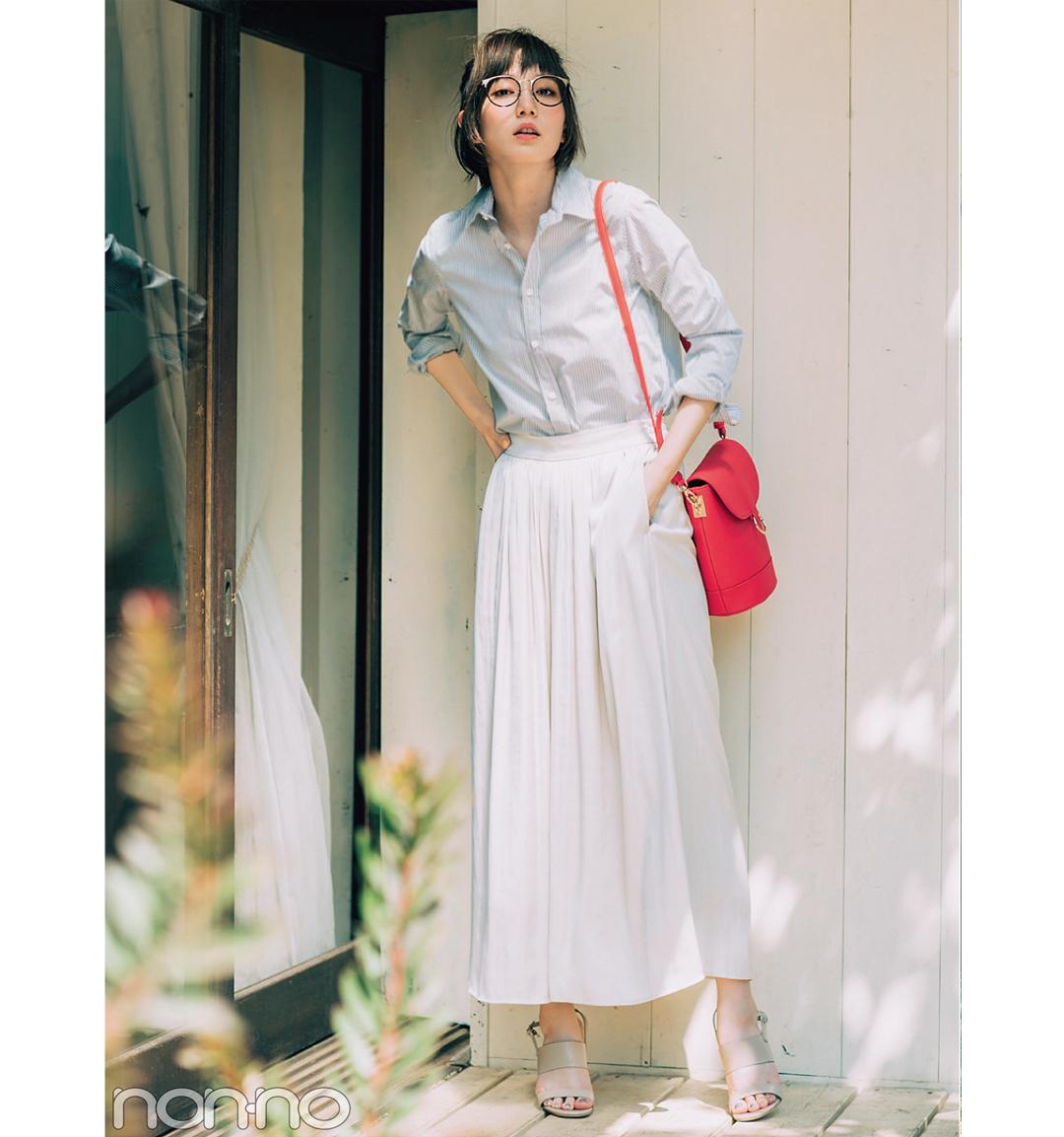 本田翼のスカーチョ着回し3スタイル★カジュアルも大人っぽも、こう着るのが正解!_1_4