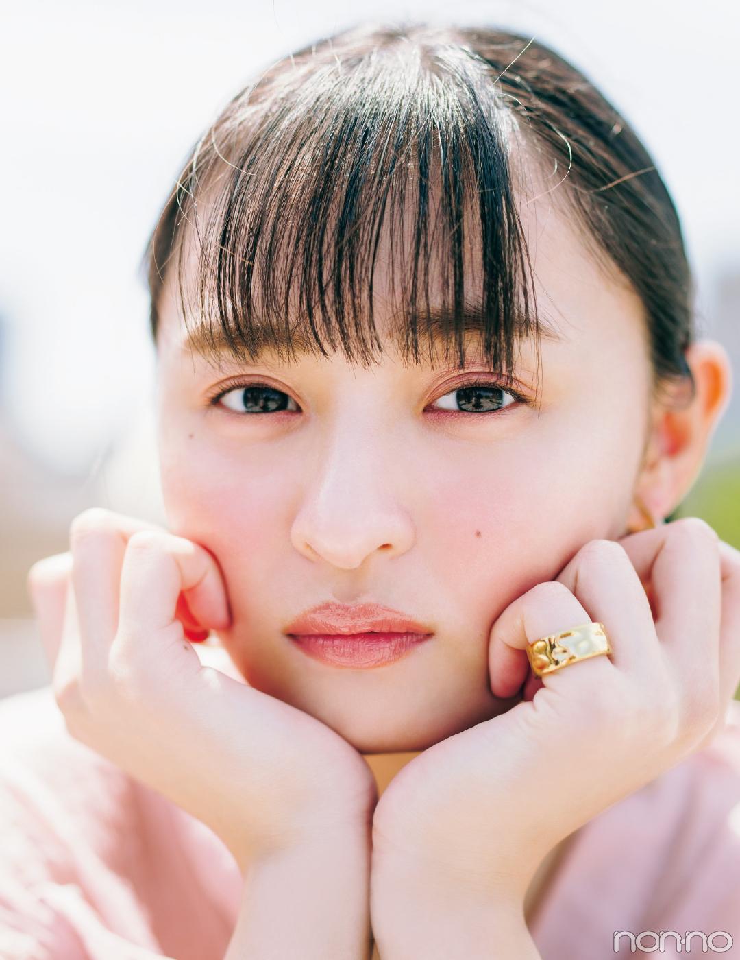 遠藤さくらが新色コスメをお見立て♡  大本命は「くすみピンク」!_1_2