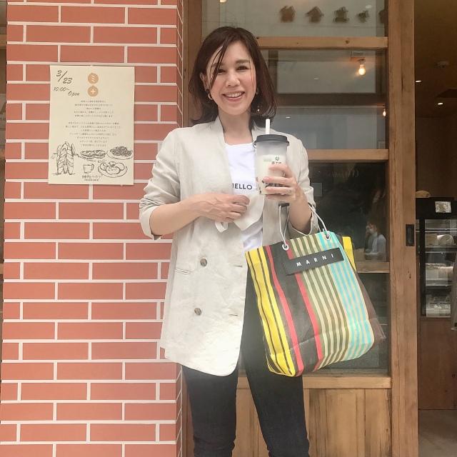 ロゴTにジャケットは、キレイ目カジュアルな絶妙なバランス♡_1_5
