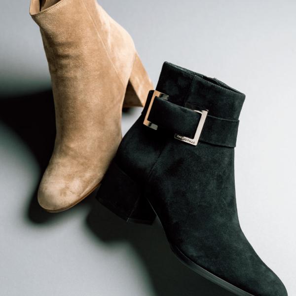 ブーツはフォルムの美しさが大切