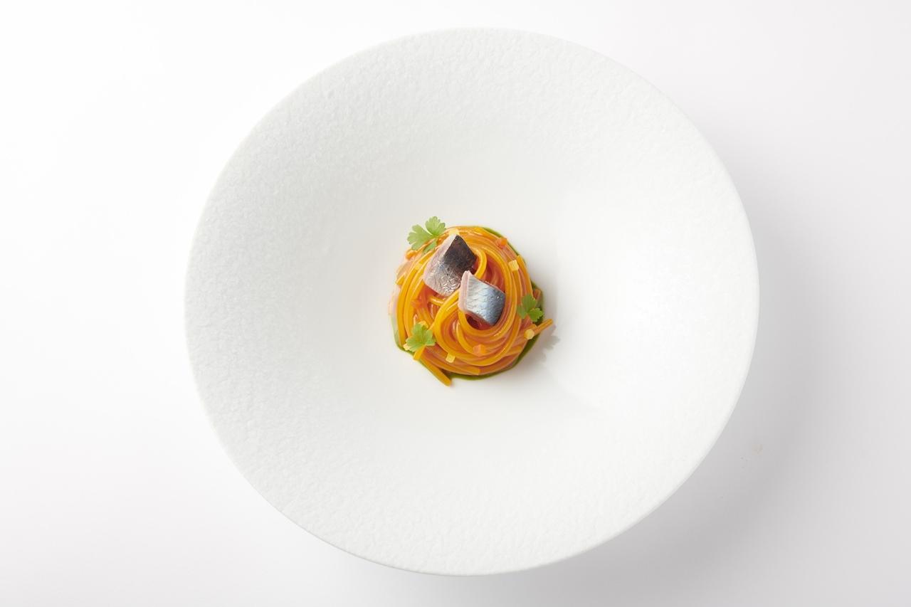「アルマーニ / リストランテ」スパゲット