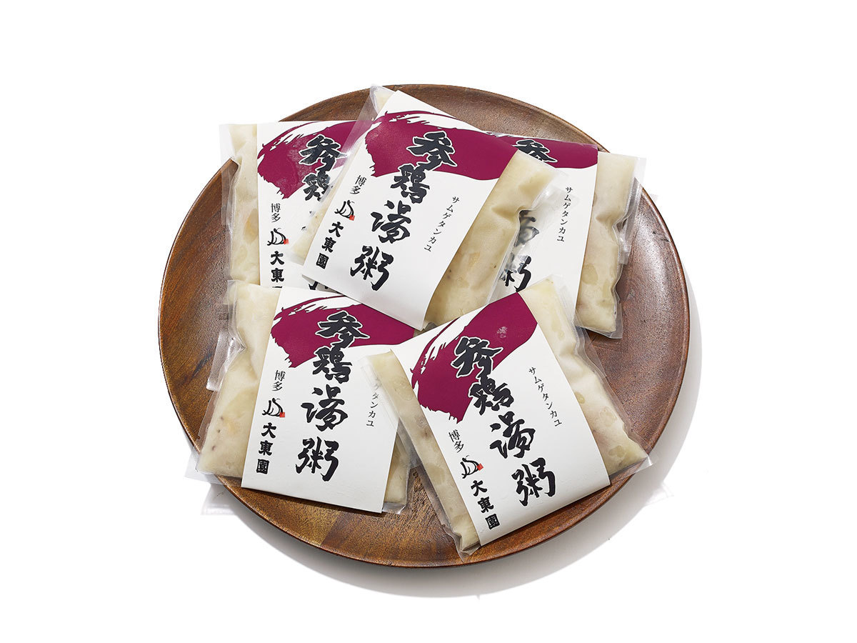 ■大東園のサムゲタン粥