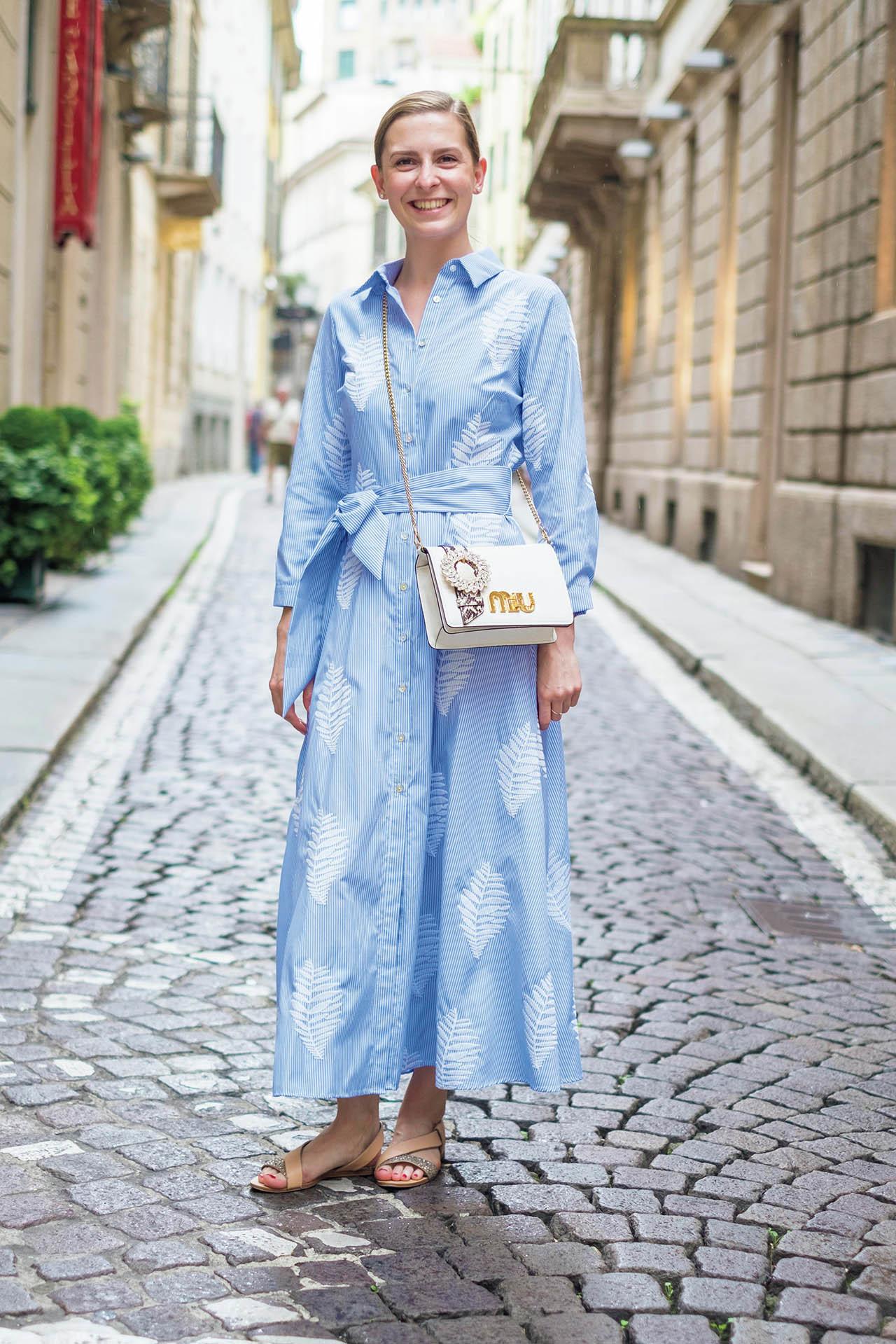 新感覚のおしゃれを楽しむ、ミラネーゼの夏ファッションスナップ 五選_1_1-4