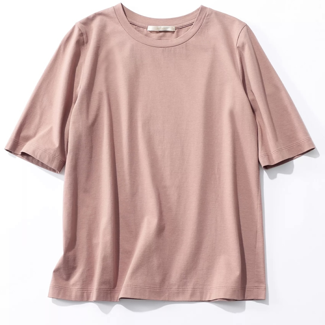 E by éclat の大人五分袖Tシャツをお試し_1_2