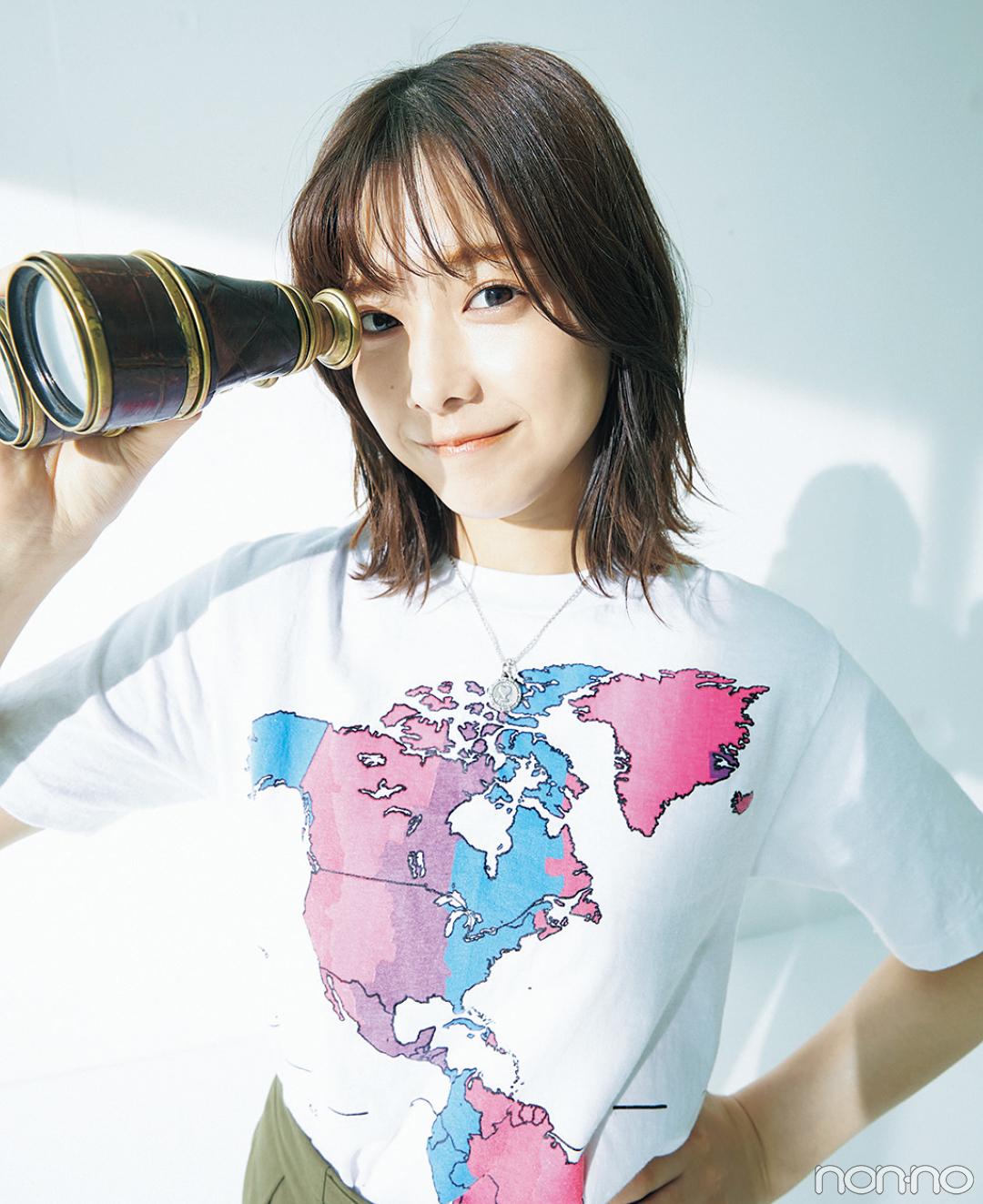渡邉理佐の毎日Tシャツコーデ 6/28 貿易記念日