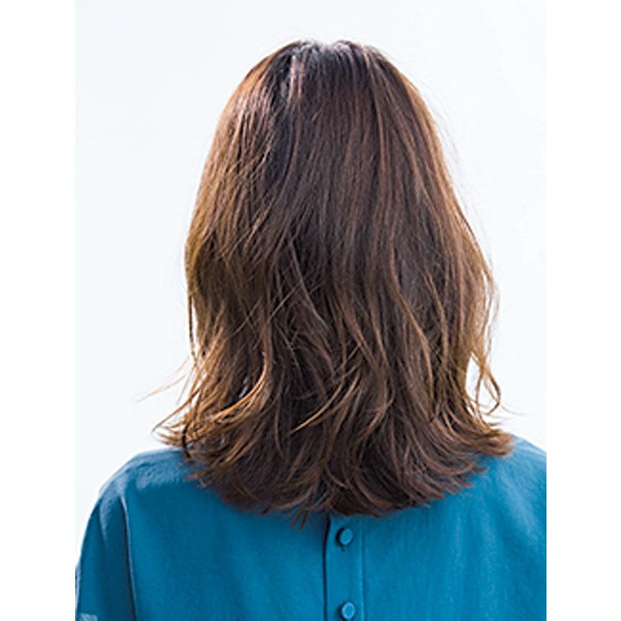 40代のミディアムヘアスタイル|2019年間人気ランキングTOP10_1_14