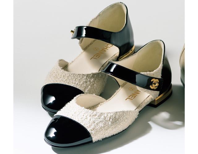 シャネルの靴