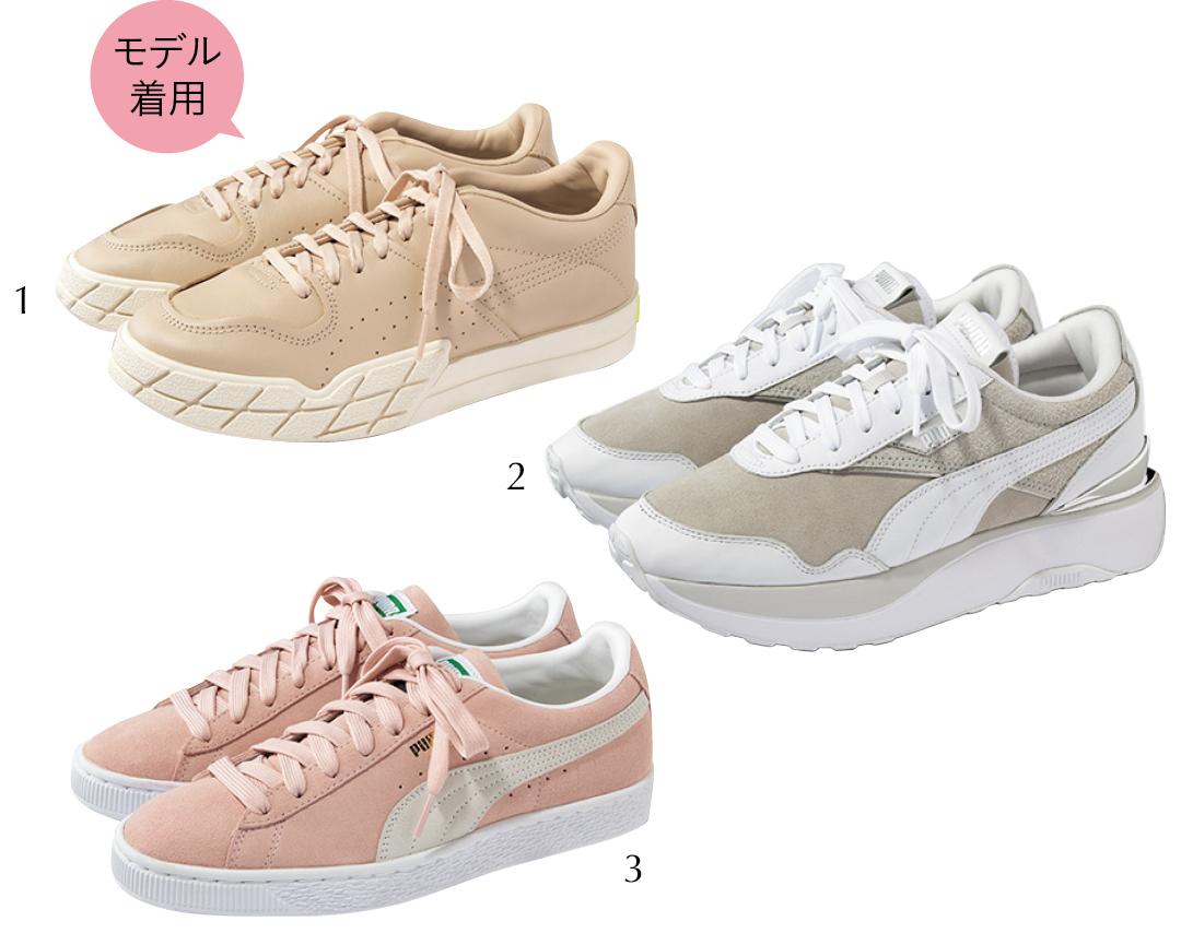 Photo Gallery|フェミニン派必見♡ 春の新作スニーカーをチェック!_1_18
