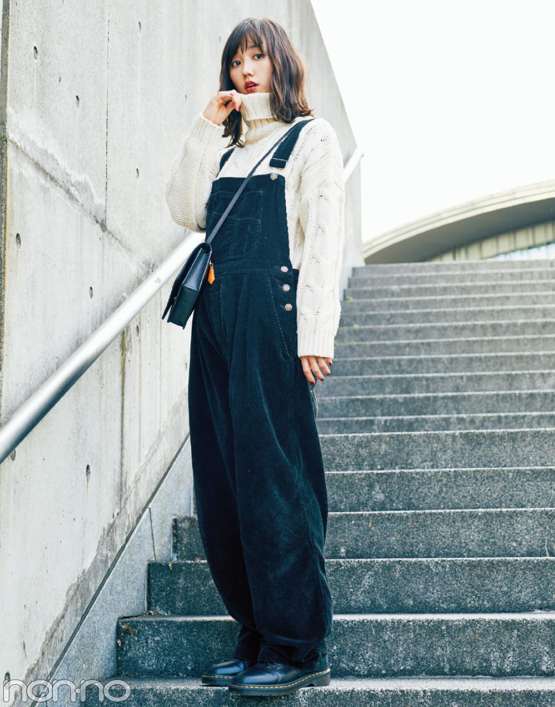 鈴木友菜のドクターマーチン三昧の冬私服&バッグの中身を拝見★_1_1