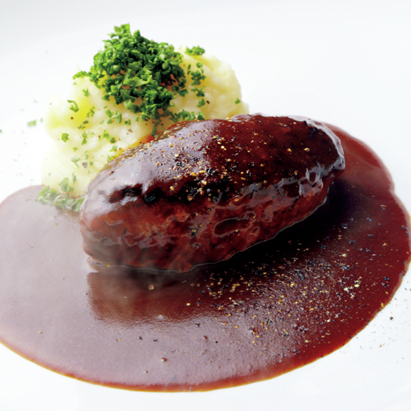 大人の洋食が大人気! 洋食 おがたの「ハンバーグ」【京都、あの店のあの一品】_1_1-1