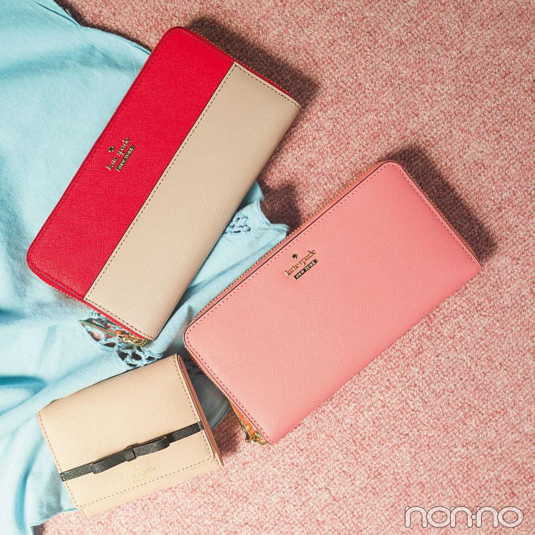新川優愛 × kate spade 人気のバッグ&お財布の新作もざくざく!_1_2-4